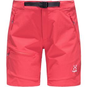 Haglöfs Lizard Shorts Dames, hibiscus red
